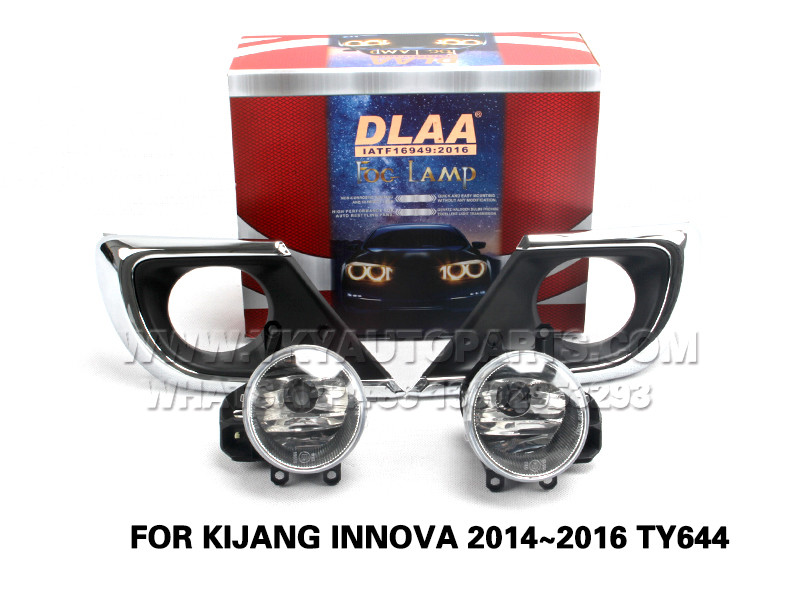 DLAA  Fog Lights Set Bumper Lamp FOR KIJANG INNOVA 2014~2016 TY644