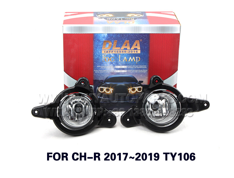 DLAA  Fog Lights Set Bumper Lamp FOR CH-R 2017~2019 TY106