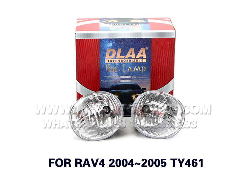 DLAA  Fog Lights Set Bumper Lamp FOR RAV4 2004~2005 TY461