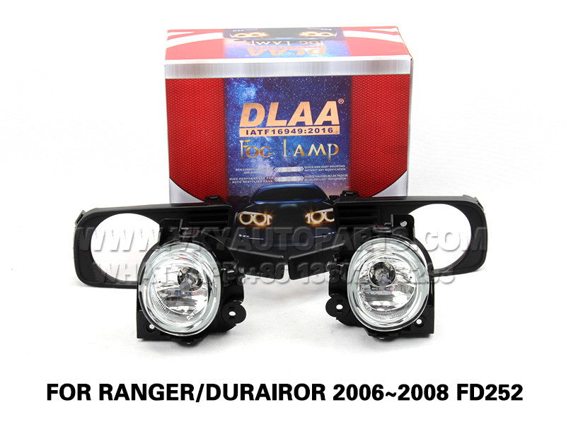 DLAA  Fog Lights Set Bumper Lamp FOR RANGER DURAIROR 2006~2008 FD252