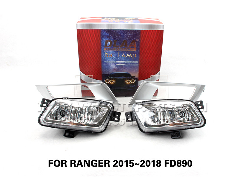 DLAA Fog Lights Set Bumper Lamp FOR RANGER 2015~2018 FD890