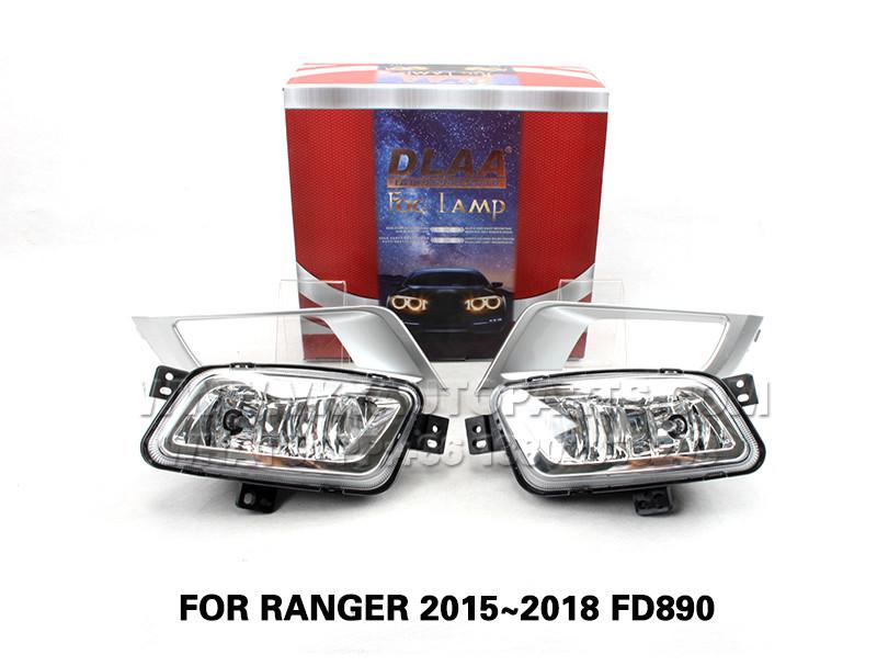 DLAA Fog Lights Set Bumper Lamp FOR RANGER 2015~2018 FD890