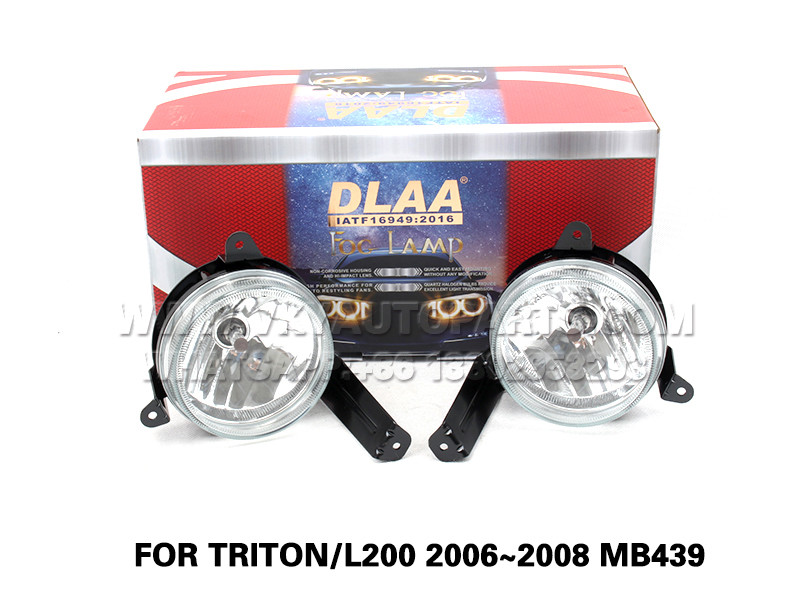 DLAA  Fog Lights Set Bumper Lamp FOR TRITON L200 2006~2008 MB439