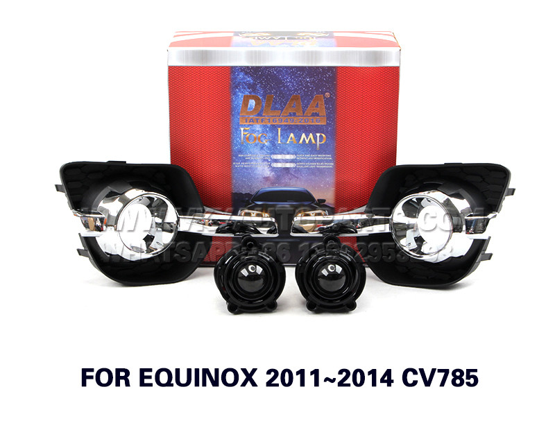 DLAA Fog Lights Set Bumper Lamp FOR EQUINOX 2011~2014 CV785