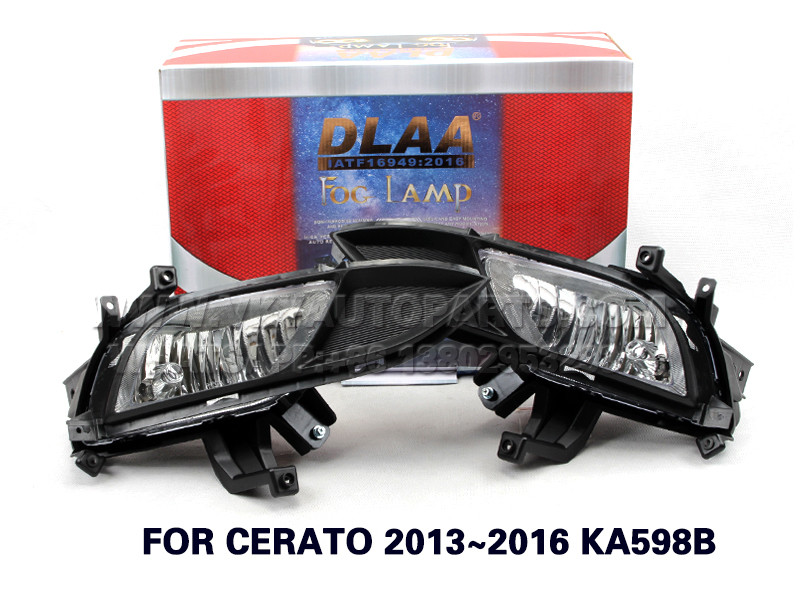 DLAA  Fog Lights Set Bumper Lamp FOR CERATO 2013~2016 KA598B