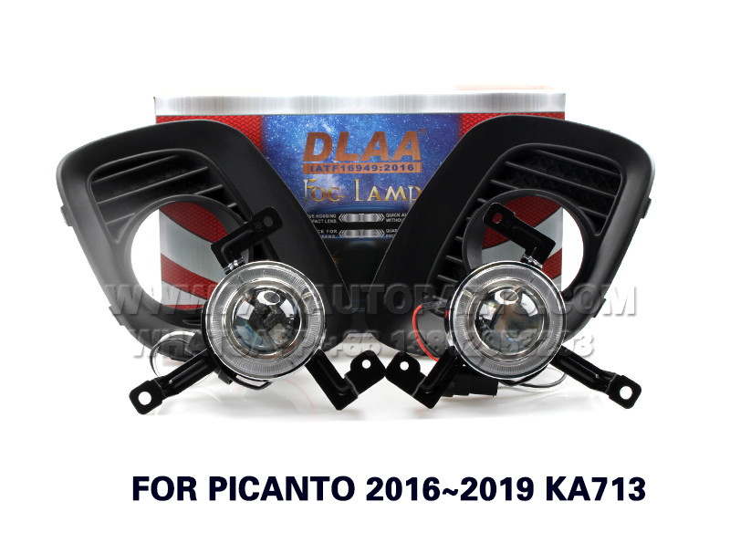 DLAA  Fog Lights Set Bumper Lamp FOR PICANTO 2016~2019 KA713