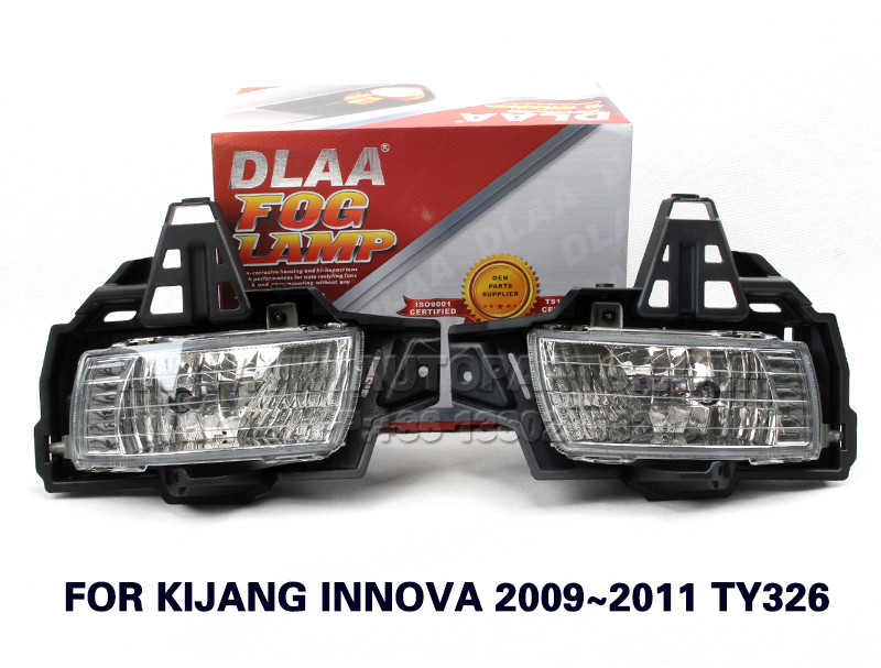 DLAA  Fog Lights Set Bumper Lamp FOR KIJANG INNOVA 2009~2011 TY326