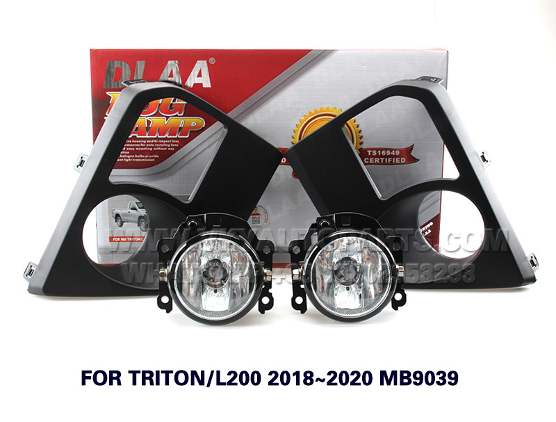 DLAA Fog Lights Set Bumper Lamp FOR TRITON L200 2018~2020 MB9039