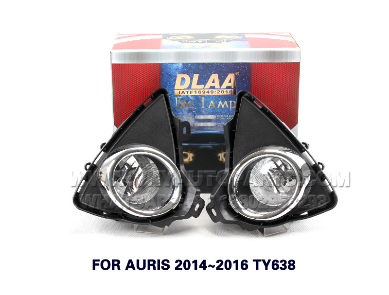 DLAA  Fog Lights Set Bumper Lamp FOR AURIS 2014~2016 TY638