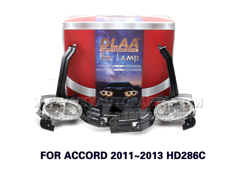 DLAA Fog Lights Set Bumper Lamp FOR ACCORD 2011~2013 HD286C