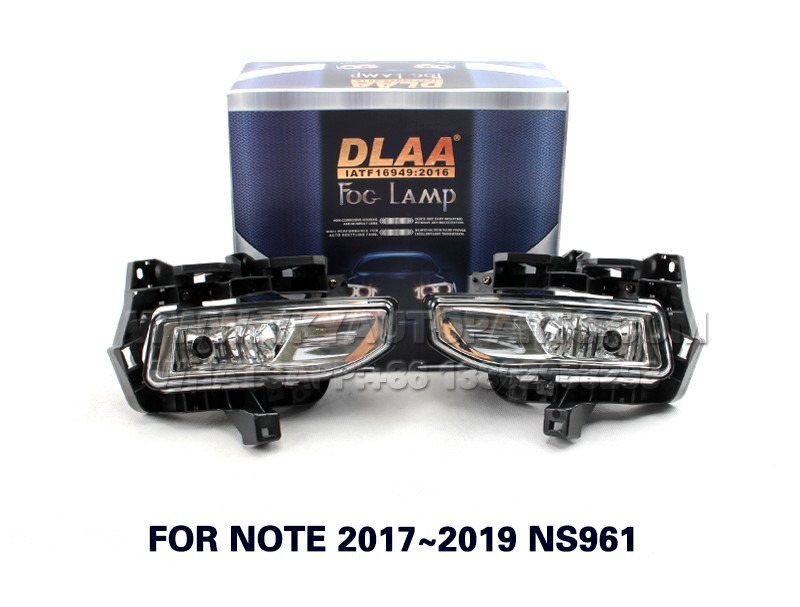 DLAA  Fog Lights Set Bumper Lamp FOR NOTE 2017~2019 NS961