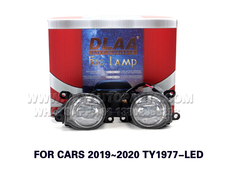 DLAA  Fog Lights Set Bumper Lamp FOR CARS 2019~2020 TY1977-LED