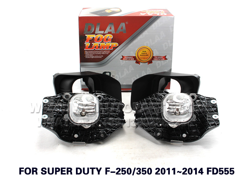 DLAA  Fog Lights Set Bumper Lamp FOR SUPER DUTY F-250 350 2011~2014 FD555