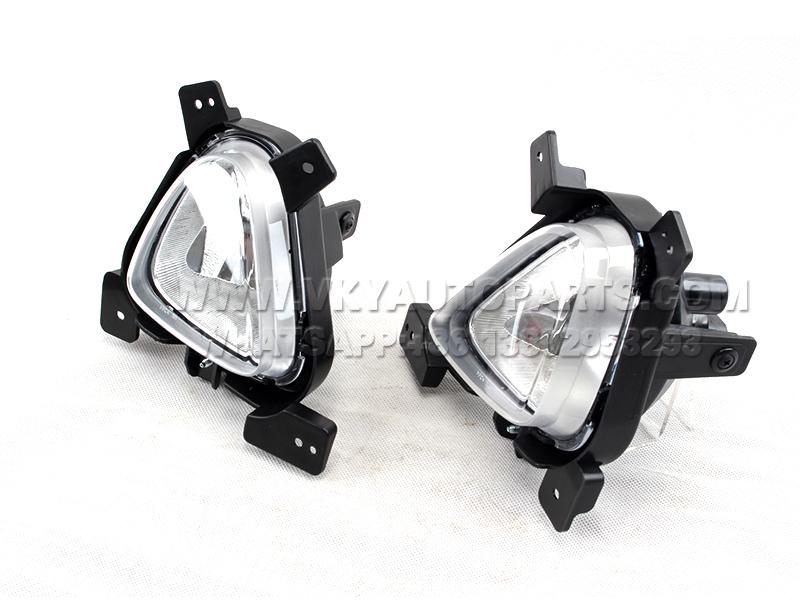 DLAA Custom round led fog lamps Supply for Hyundai Cars-2