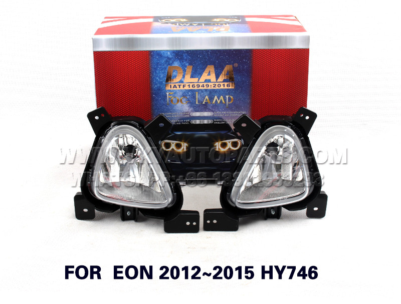 DLAA  Fog Lights Set Bumper Lamp FOR  EON 2012~2015 HY746