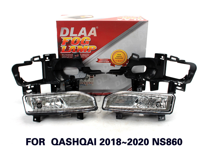 DLAA  Fog Lights Set Bumper Lamp FOR  QASHQAI 2018~2020 NS860