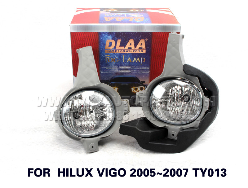 DLAA  Fog Lights Set Bumper Lamp FOR  HILUX VIGO 2005~2007 TY013