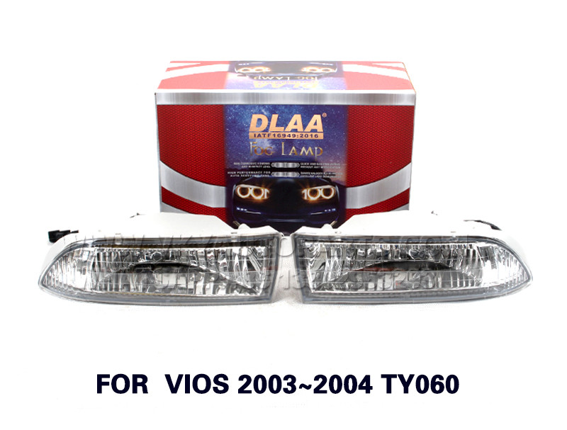 DLAA Fog Lights Set Bumper Lamp FOR  VIOS 2003~2004 TY060