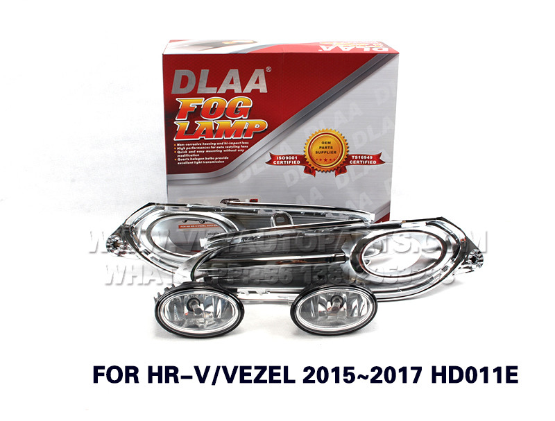 DLAA  Fog Lights Set Bumper Lamp FOR HR-V VEZEL 2015~2017 HD011E