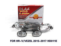 DLAA  Fog Lights Set Bumper Lamp FOR HR-V VEZEL 2015~2017 HD011E
