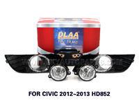 DLAA Fog Lights Set Bumper Lamp FOR CIVIC 2012~2013 HD852