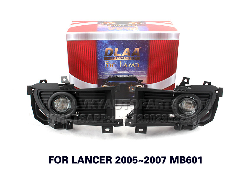 DLAA Fog Lights Set Bumper Lamp FOR LANCER 2005~2007 MB601