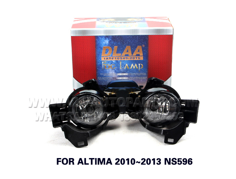 DLAA Fog Lights Set Bumper Lamp FOR ALTIMA 2010~2013 NS596