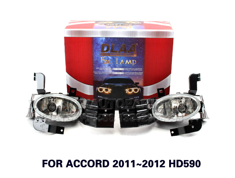 DLAA  Fog Lights Set Bumper Lamp FOR ACCORD 2011~2012 HD590