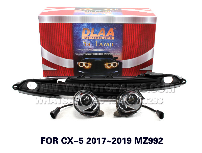 DLAA  Fog Lights Set Bumper Lamp FOR CX-5 2017~2019 MZ992