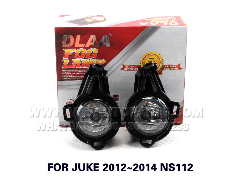 DLAA Fog Lights Set Bumper Lamp FOR JUKE 2012~2014 NS112