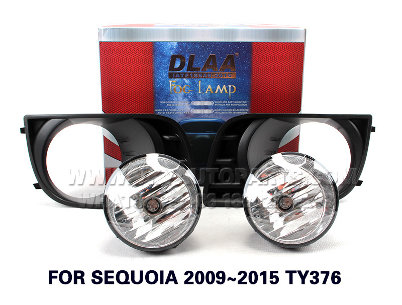 DLAA Fog Lamp Set Bumper Light with WIREHARNESS FOR SEQUOIA 2009~2015 TY376