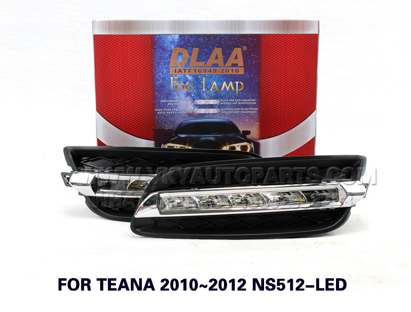 DLAA  Fog Lights Set Bumper Lamp FOR TEANA 2010~2012 NS512-LED