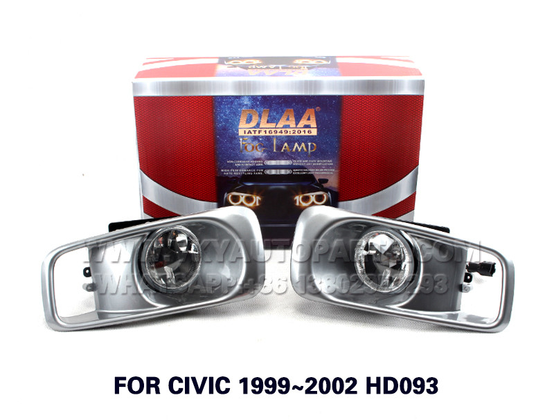 DLAA  Fog Lamp Set Bumper Lamp FOR CIVIC 1999~2002 HD093