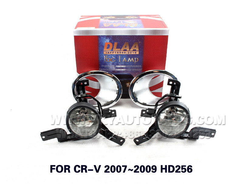 DLAA  Fog Lamp Set Bumper Lamp FOR CR-V 2007~2009 HD256