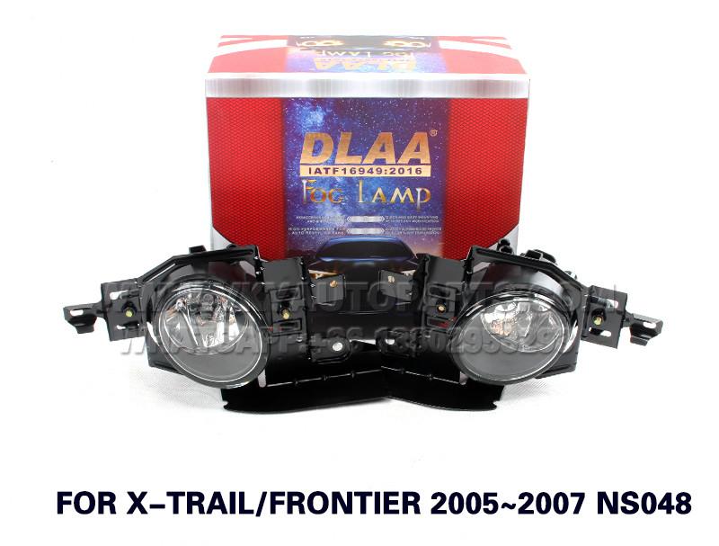 DLAA  Fog Lamp Set Bumper Lamp FOR X-TRAILF RONTIER 2005~2007 NS048