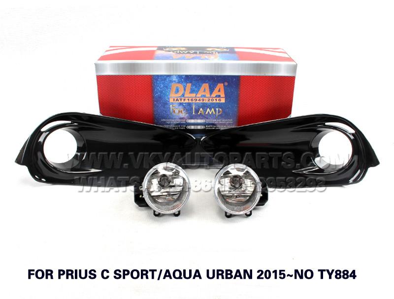 DLAA Fog Lamp Set Bumper Lamp FOR PRIUS C SPORT AQUA URBAN 2015~NO TY884