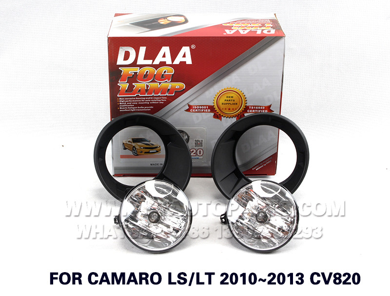 DLAA  Fog Lamp Set Bumper Lamp FOR CAMARO LS LT 2010~2013 CV820