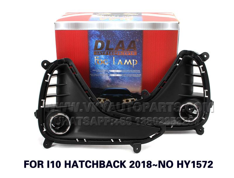 DLAA  Fog Lights Set Bumper Lamp With FOR I10 HATCHBACK 2018~NO HY1572