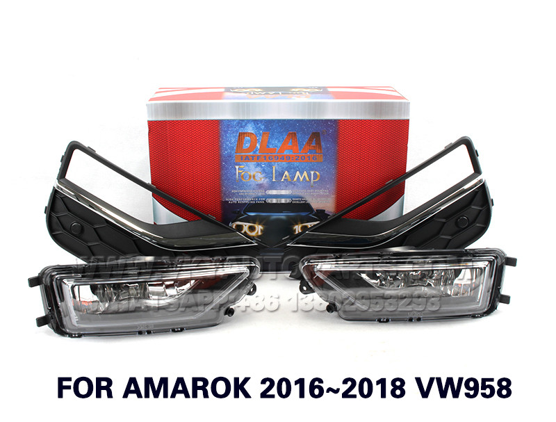 DLAA  Fog Lights Set Bumper Lamp With FOR AMAROK 2016~2018 VW958