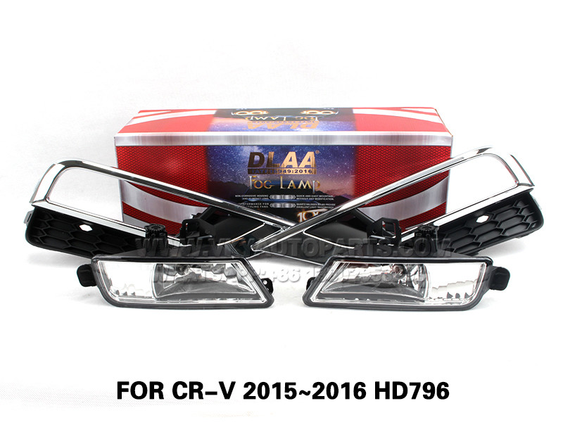 DLAA  Fog Lights Set Bumper Lamp With FOR CR-V 2015~2016 HD796