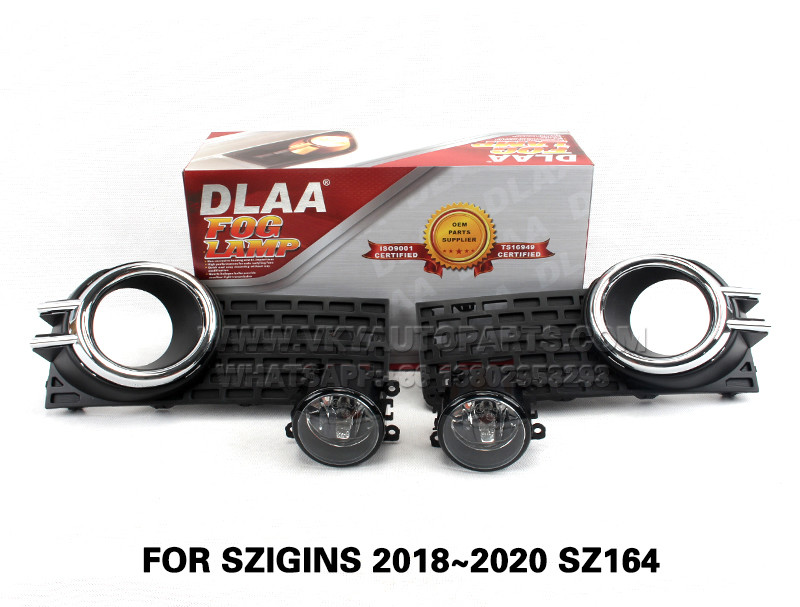 DLAA  Fog Lights Set Bumper Lamp With FOR SZIGINS 2018~2020 SZ164