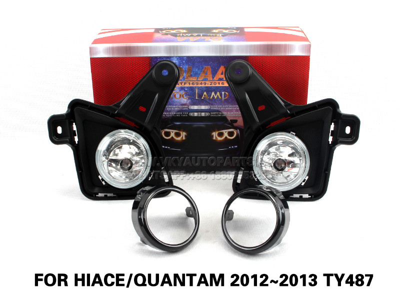 DLAA  Fog Lights Set Bumper Lamp With FOR HIACE QUANTAM 2012~2013 TY487
