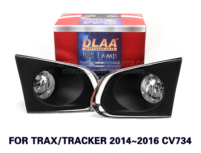 DLAA Fog Lights Set Bumper Lamp With FOR TRAX TRACKER 2014~2016 CV734