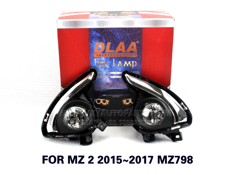 DLAA  Fog Lights Set Bumper Lamp With FOR MZ 2 2015~2017 MZ798