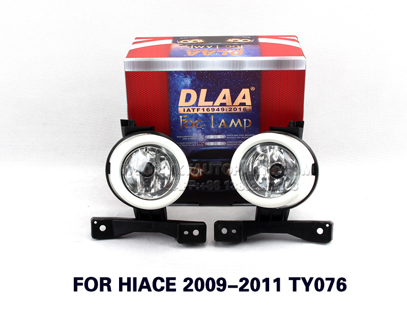 DLAA Fog Lights Set Bumper Lamp With FOR HIACE 2009-2011 TY076