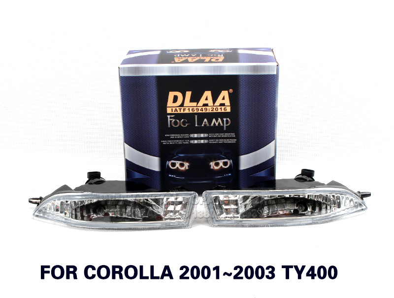 DLAA  Fog Lights Set Bumper Lamp With FOR COROLLA 2001~2003 TY400