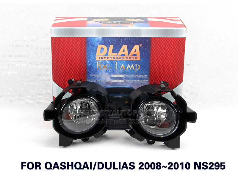 DLAA Fog Lights Set Bumper Lamp With FOR QASHQAI DULIAS 2008~2010 NS295