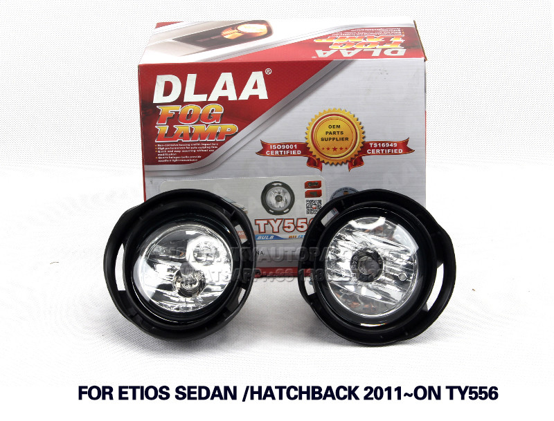 DLAA  Fog Lamp Set Bumper Lamp FOR ETIOS SEDAN HATCHBACK 2011~ON TY556