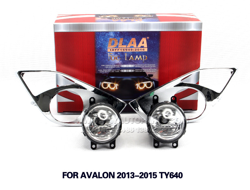DLAA Fog Light Set Bumper Lamp FOR AVALON 2013-2015 ty640