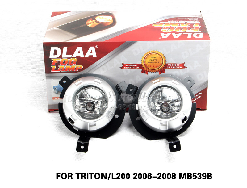 DLAA Fog Lamp Set Bumper Lamp FOR TRITON L200 2006-2008 MB539B